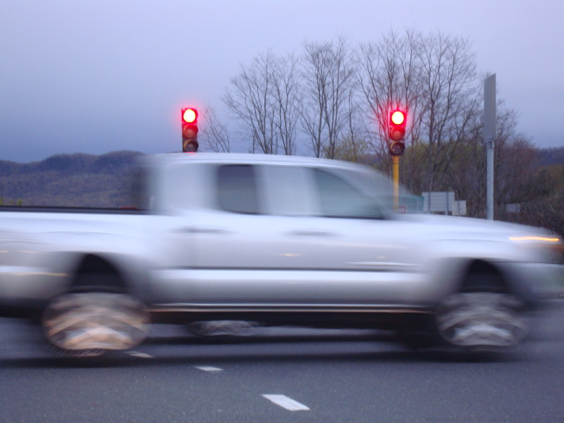 Blurry Truck, Route 9:Damond Rd.