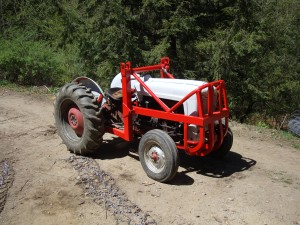 David's Painted Tractor