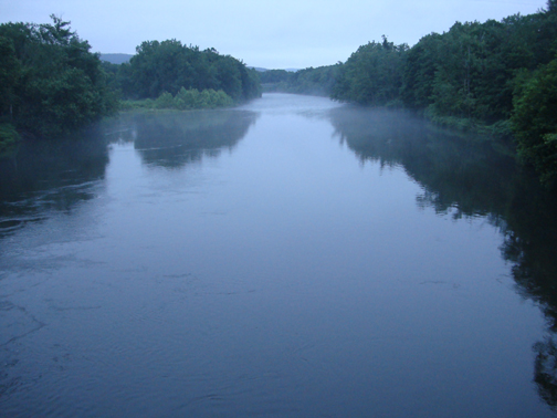 Deerfield River from Stillwater Bridge