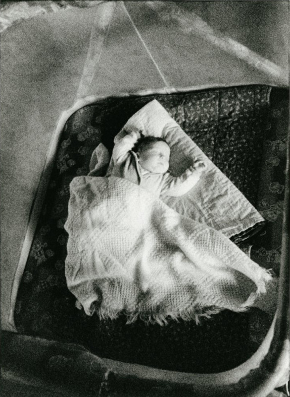 Baby on Quilt