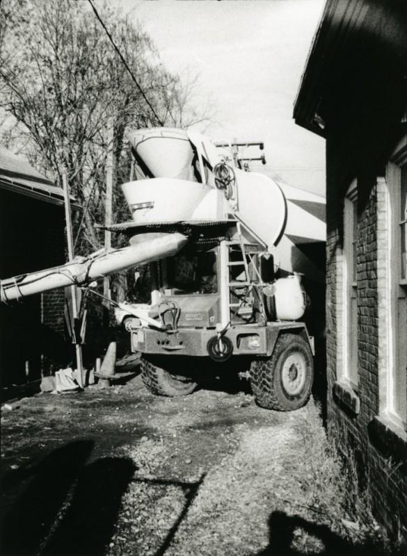 Cement Mixer for Garage