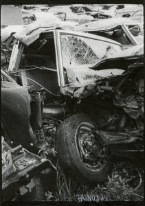 Great Wreck, Tire and Windshield