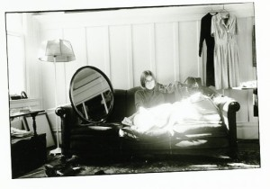 Jane Wyatt on Couch - MOMA