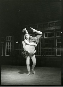 KJ Holmes with unknown dancer