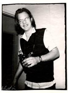 Larry John Drinking Chivas Regal