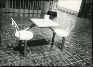 Mall Table and Chairs