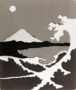 Mt. Fuji with Wave