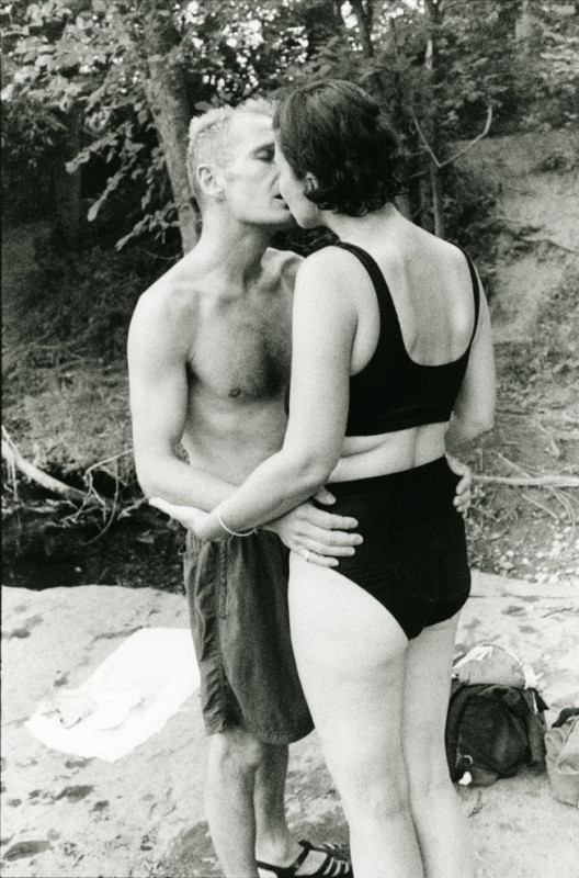Rick and Mary Kiss