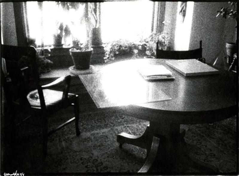 Table at Bardwell