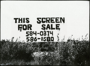 This Screen for Sale #4