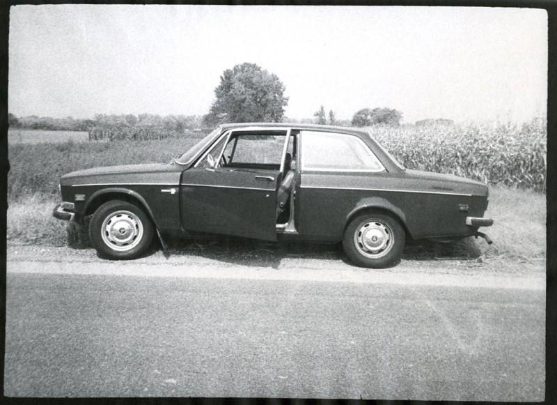 Volvo Door Open Cornfield