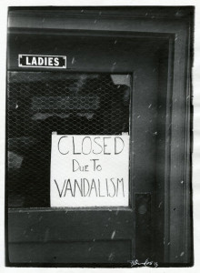 Women Closed Due To Vandalism